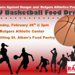 Help RAH Fight Hunger at the 2/26 Women's Basketball Game!