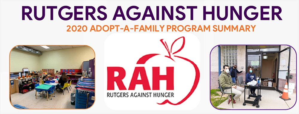 Rutgers Against Hunger 2020 Adopt-A-Family Program Summary